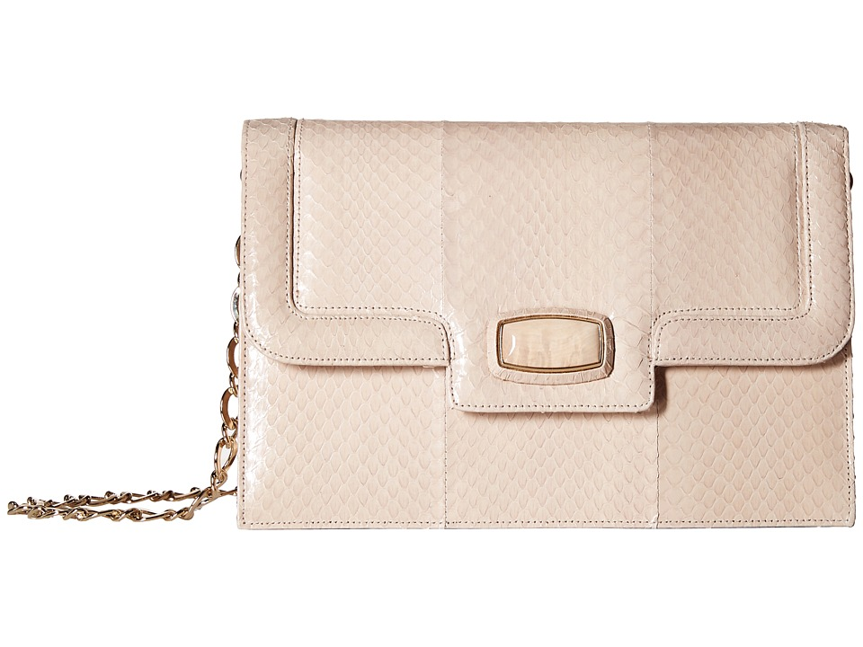 Oscar de la Renta - Shoulder Bag (Bisque Elaphe) Cross Body Handbags