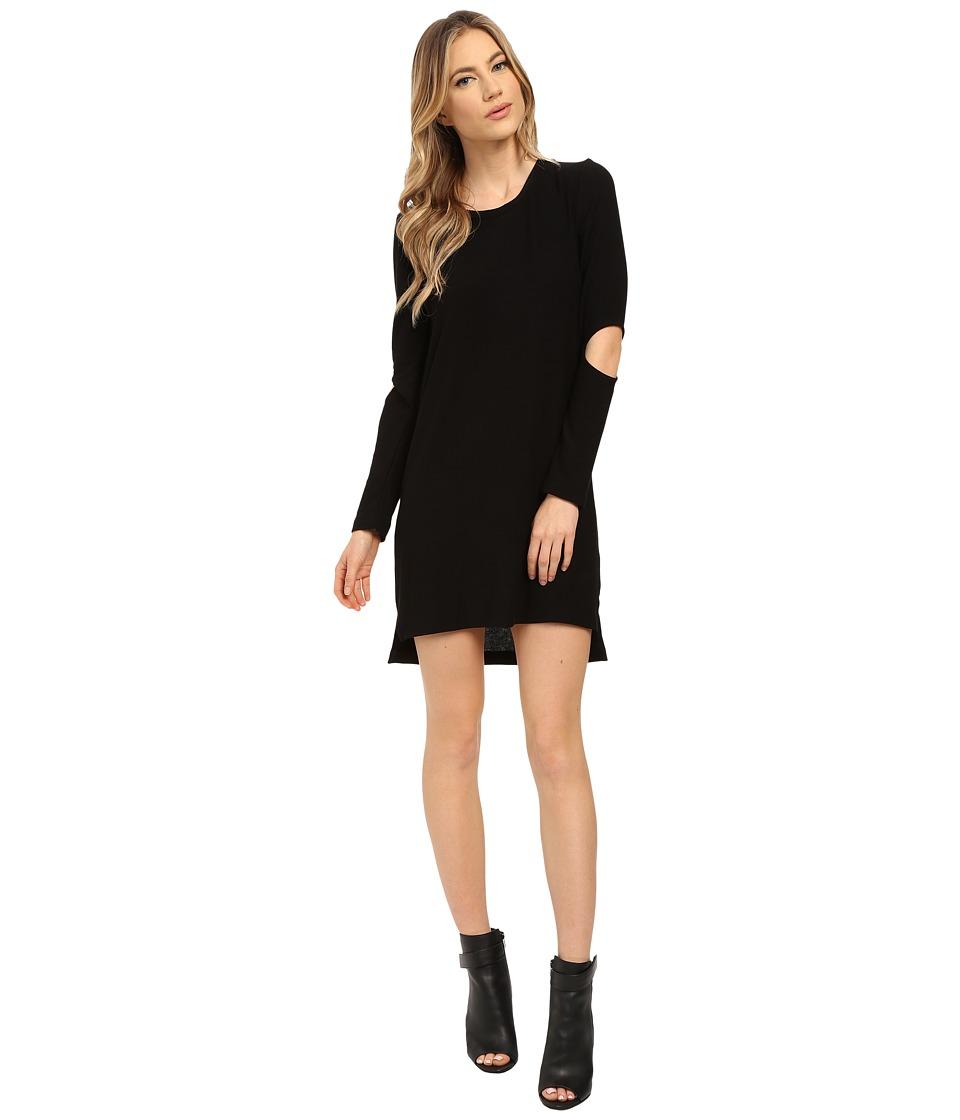 LNA - Durango Sweater Dress (Black) Women's Dress