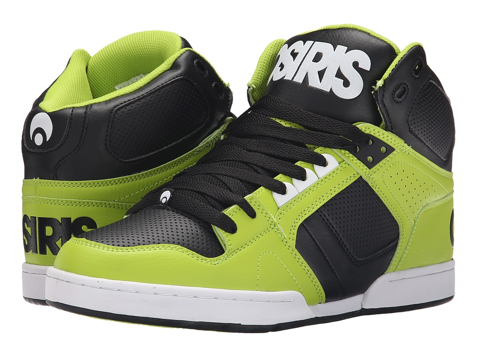 Osiris - NYC83 (Lime/White) Men's Skate Shoes