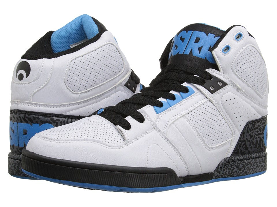 Osiris - NYC83 (White/Blue) Men's Skate Shoes