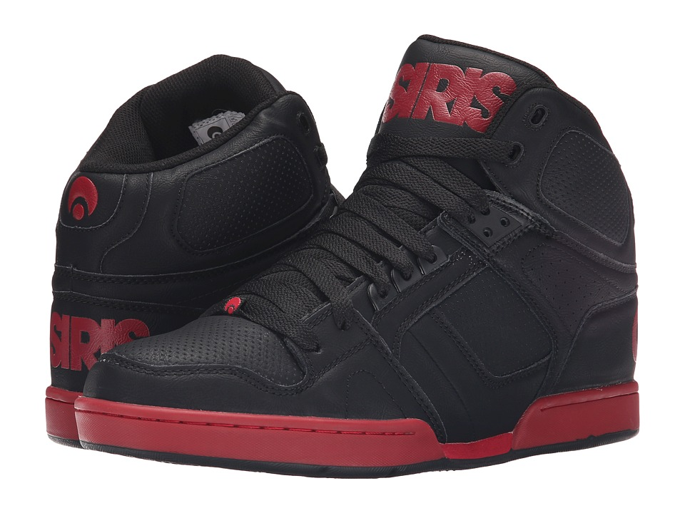 Osiris - NYC83 (Black/Red) Men's Skate Shoes