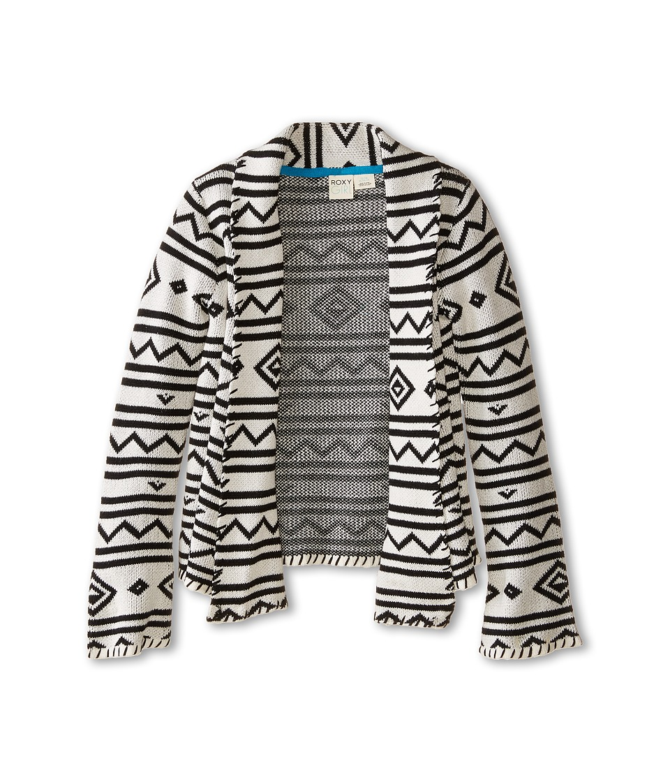 Roxy Kids - At Dawn Cozy Sweater (Little Kids/Big Kids) (Whisper White) Girl's Sweater