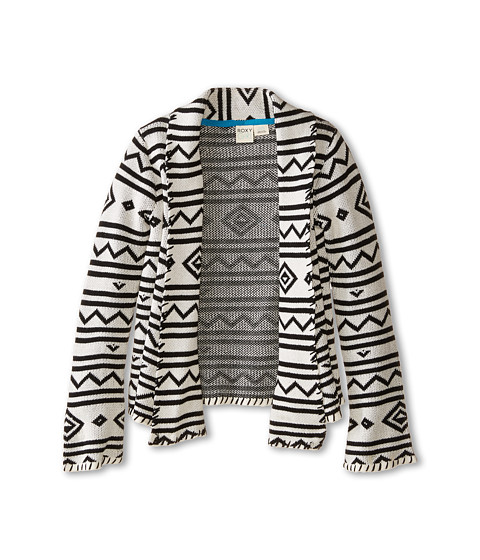 Roxy Kids - At Dawn Cozy Sweater (Little Kids/Big Kids) (Whisper White) Girl