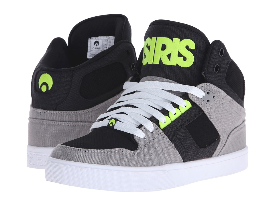 Osiris - NYC83 VLC (Grey/Lime) Men's Skate Shoes