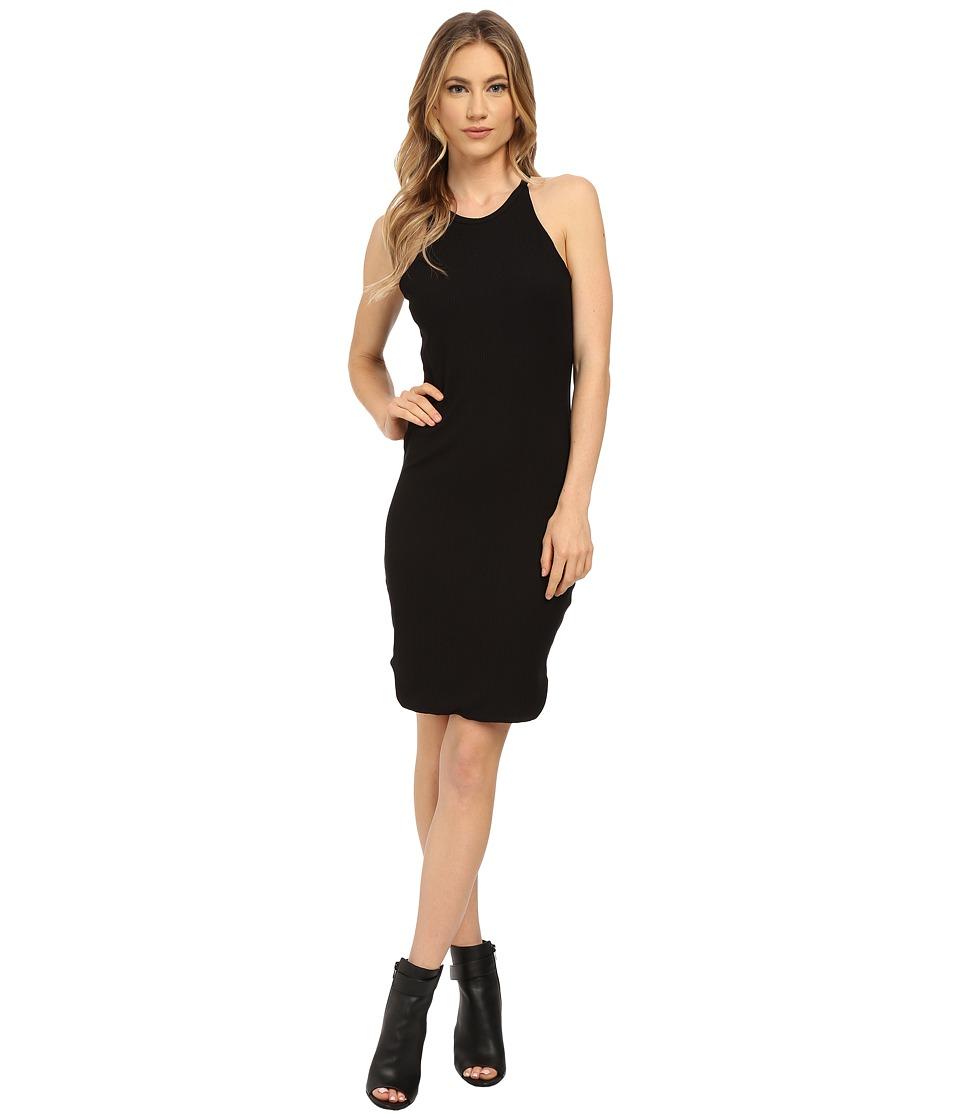 LNA - Elise Dress (Black Rib) Women's Dress
