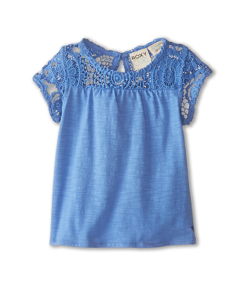 Roxy Kids - Coral Bay Top (Infant) (Blue Bonnet) Girl's Clothing