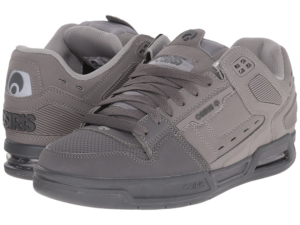 Osiris - Peril (Grey/Charcoal) Men's Skate Shoes