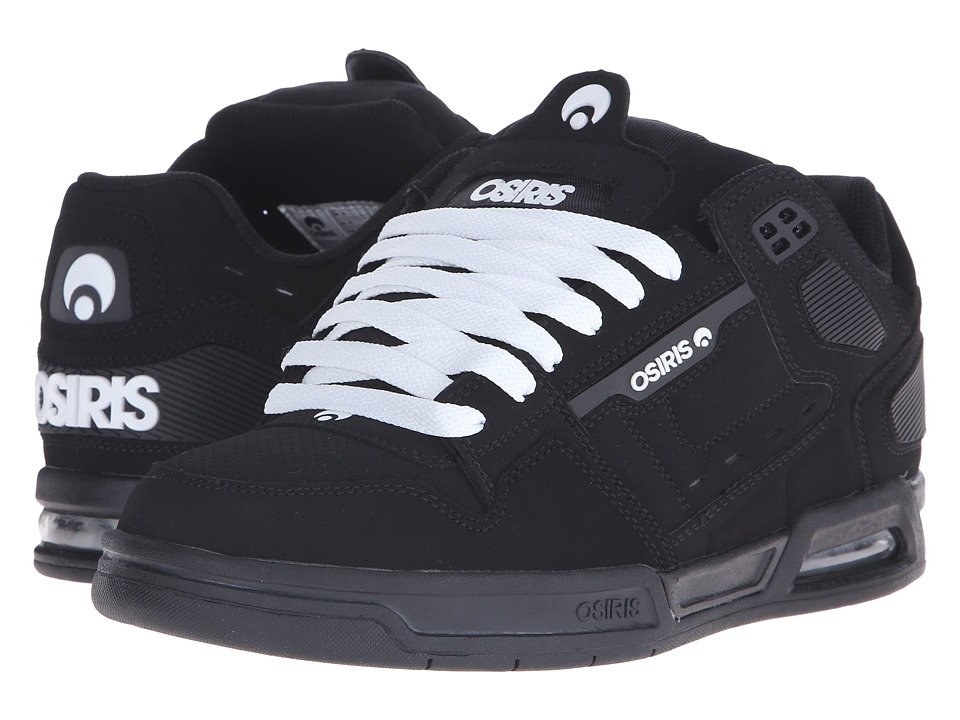 Osiris - Peril (Black/White) Men's Skate Shoes