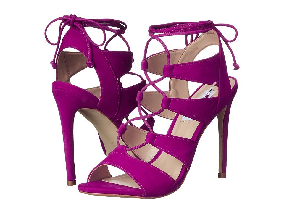 Steve Madden - Sandalia (Purple Nubuck) High Heels