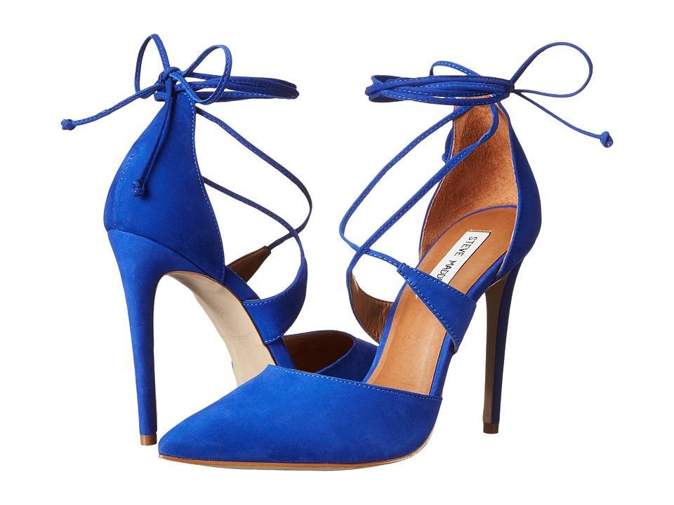Steve Madden - Raela (Blue Nubuck) High Heels