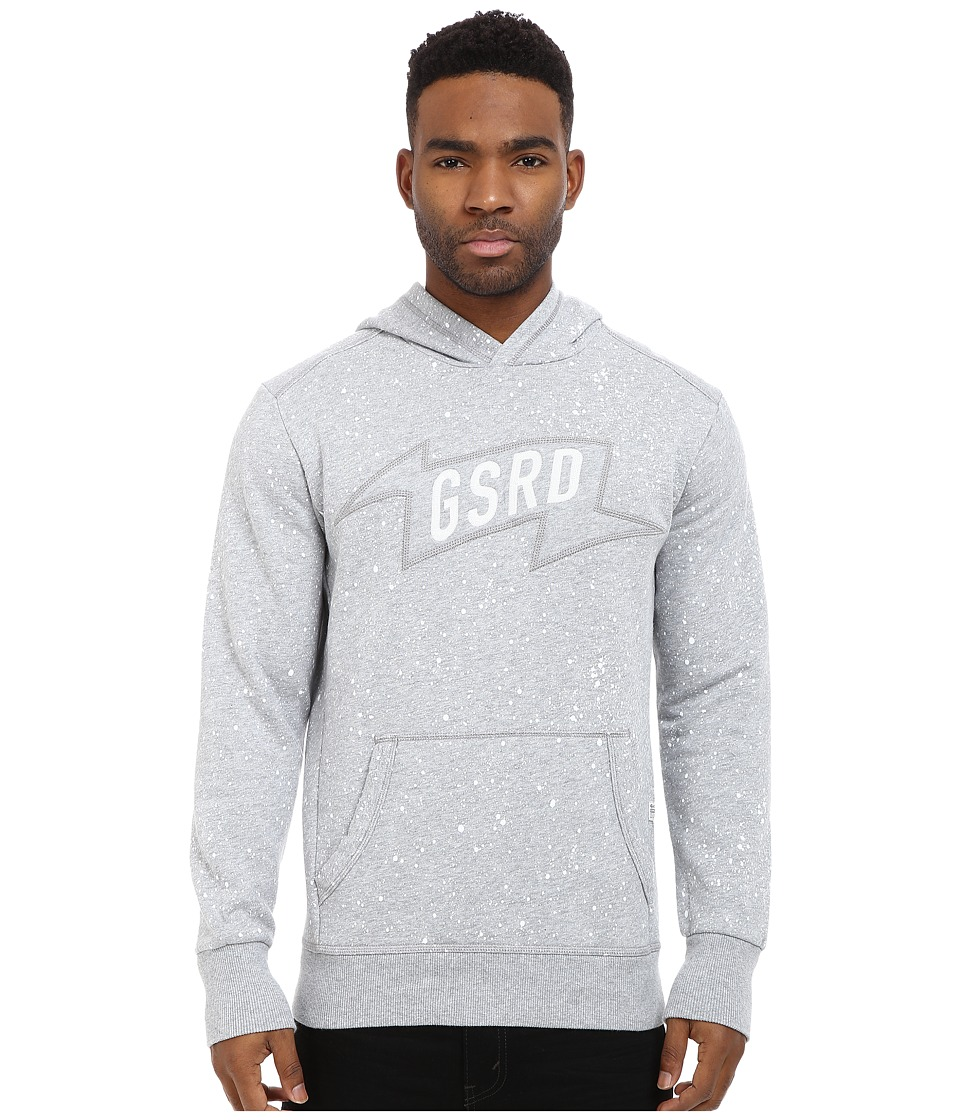 G-Star - Mikel Hooded Sweatshirt (Grey Heather) Men's Sweatshirt