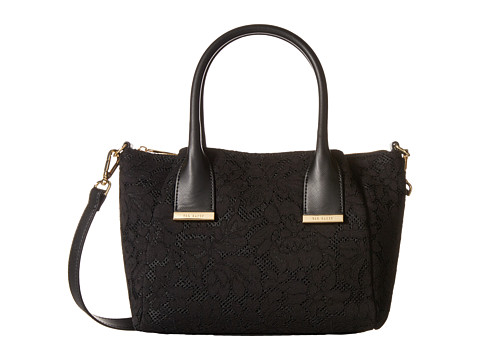 Ted Baker - Leora (Black) Satchel Handbags