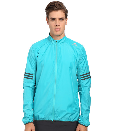 adidas - Response Wind Jacket (Shock Green/Mineral Green) Men's Coat