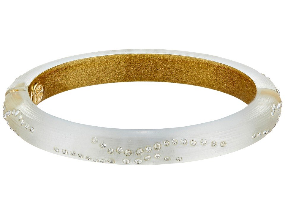 Alexis Bittar - Small Diamond Dust Hinge (Silver) Bracelet