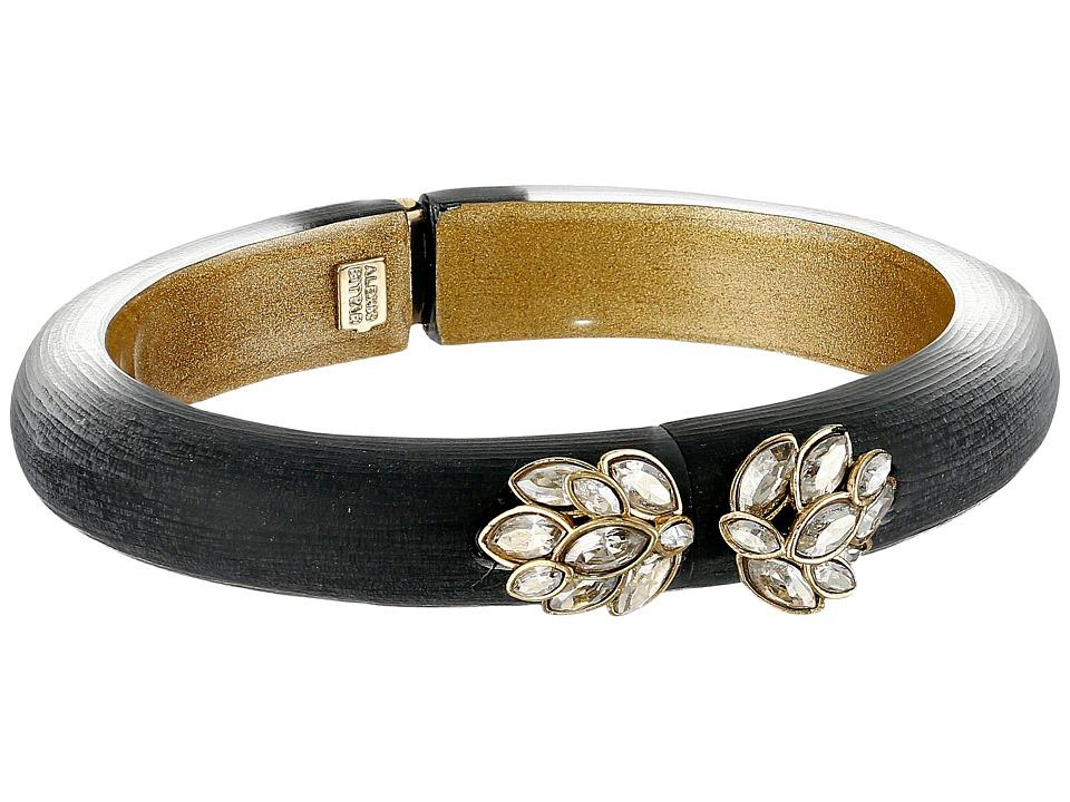 Alexis Bittar - Marquis Hinged Bracelet (Black) Bracelet