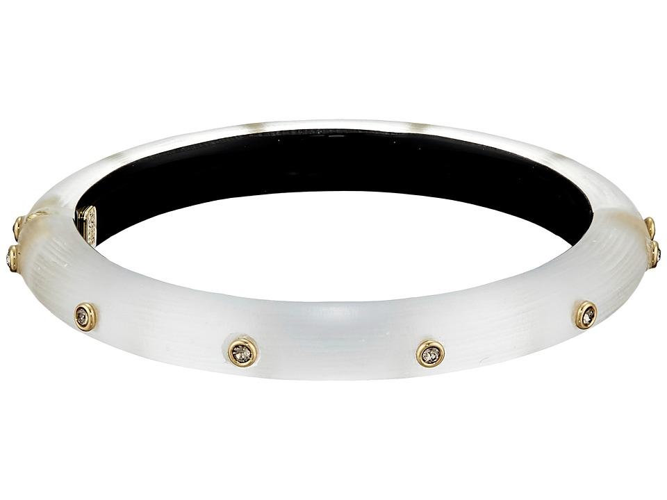 Alexis Bittar - Skinny Neo Bohemian Crystal (Silver) Bracelet