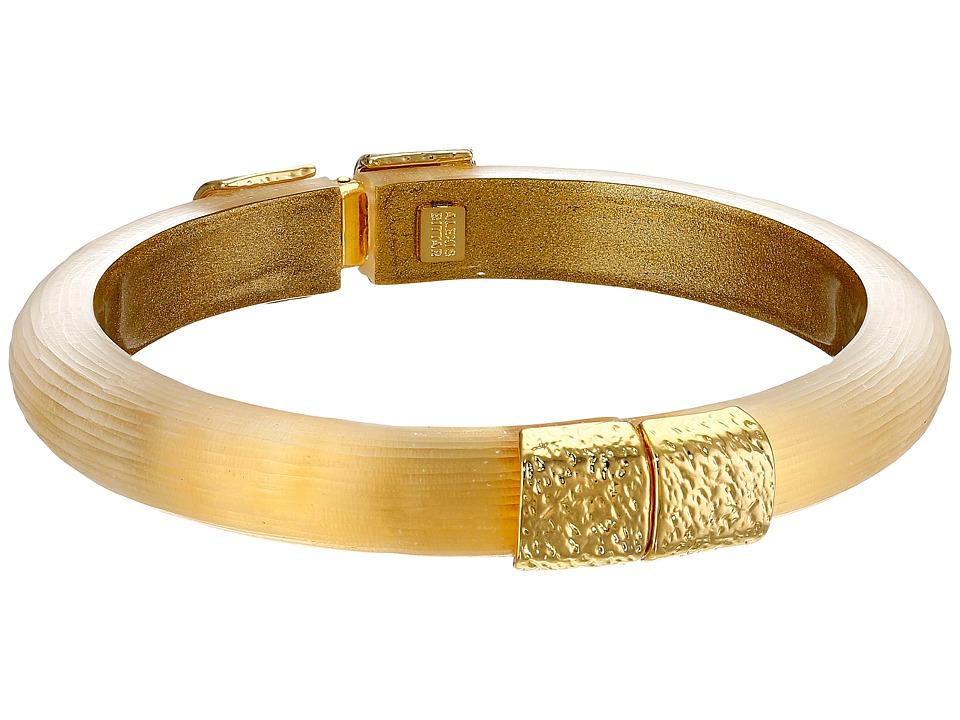 Alexis Bittar - Gold Small Hinge Bracelet (Gold) Bracelet