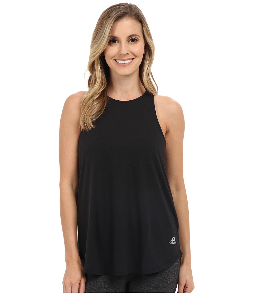 adidas - 24 Seven Tank Top (Black) Women's Sleeveless