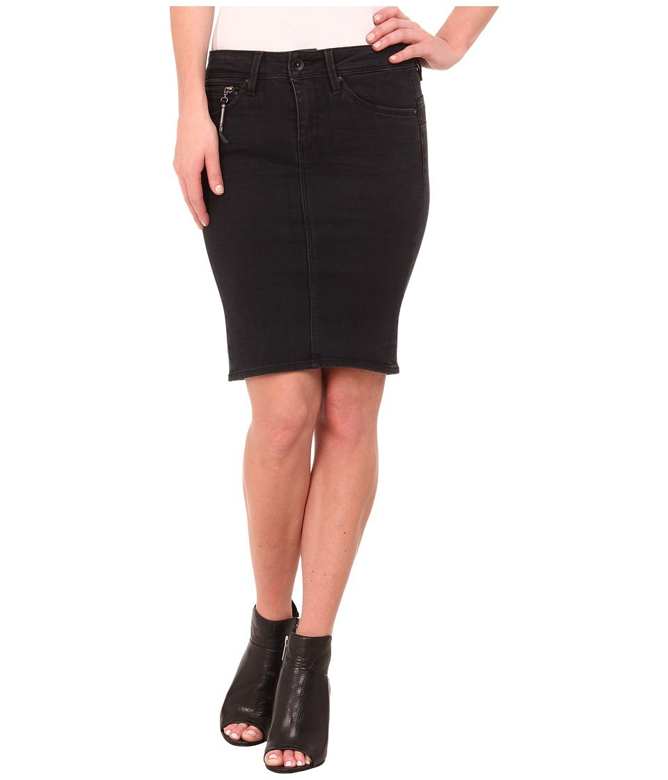G-Star - New Midge Sculpted Slim Skirt (Dark Aged) Women's Skirt