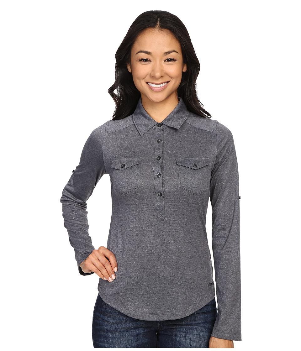 Marmot - Allie Long Sleeve (Dark Steel) Women's Long Sleeve Pullover
