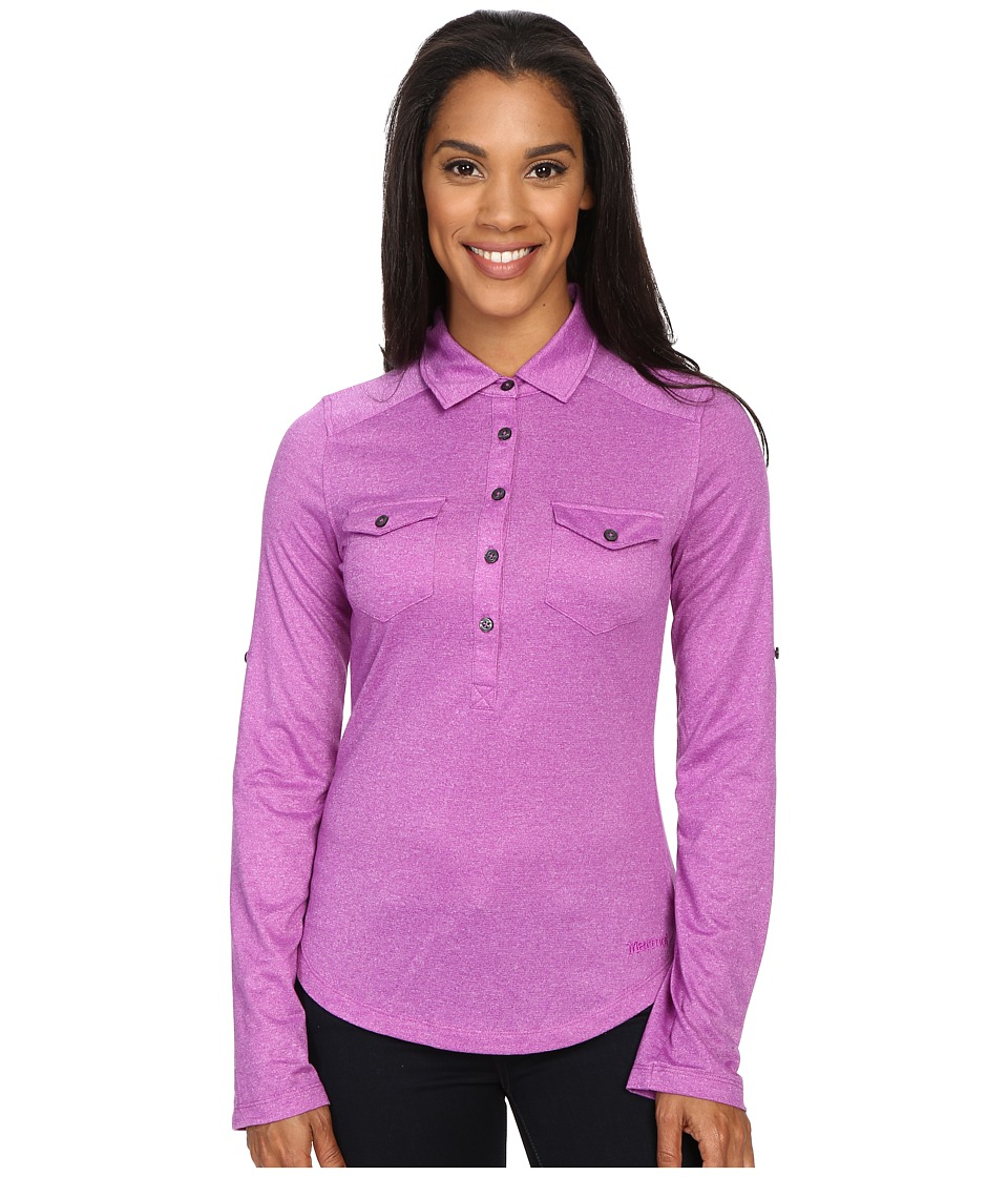 Marmot - Allie Long Sleeve (Vibrant Fuchsia) Women's Long Sleeve Pullover