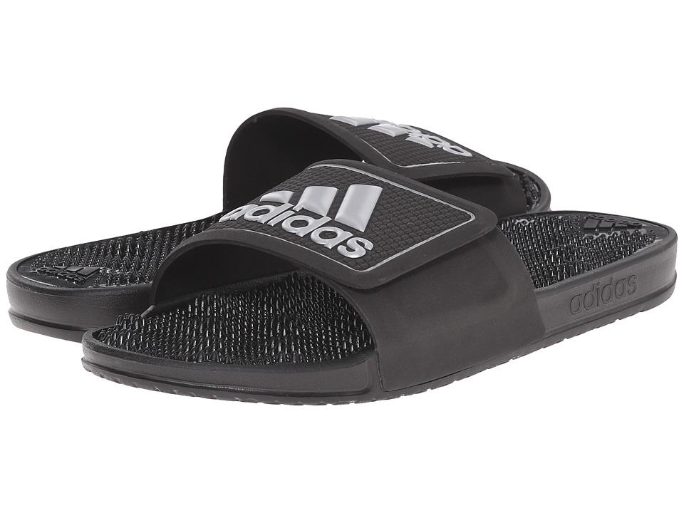 adidas adissage 2.0 M Logo (Black/White) Men