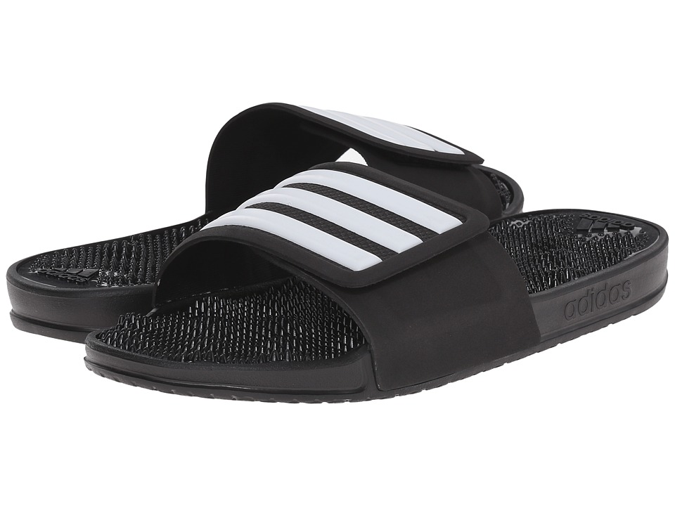 adidas - adissage 2.0 M (Black) Men's Slide Shoes