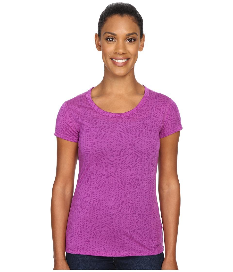 Marmot - Nina Short Sleeve (Vibrant Fuchsia) Women's T Shirt