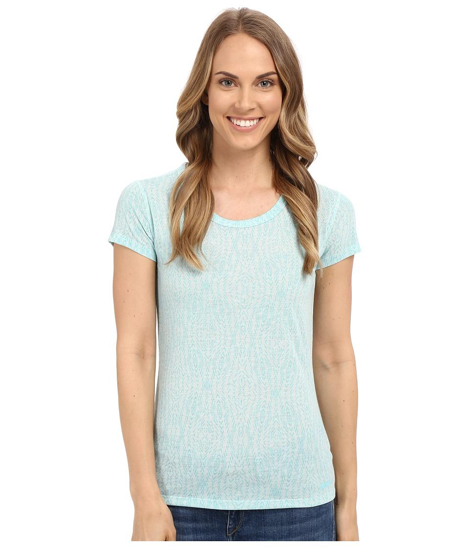 Marmot - Nina Short Sleeve (Blue Tint) Women's T Shirt