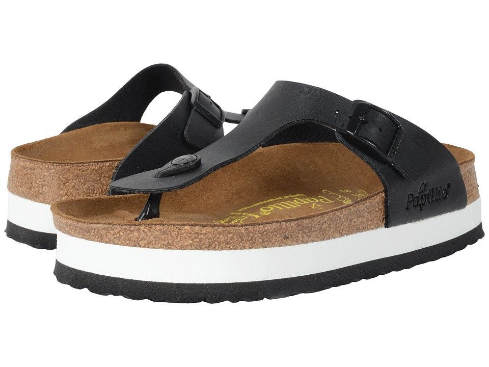 Birkenstock - Gizeh Platform (Black Birko-Flor ) Women's Sandals