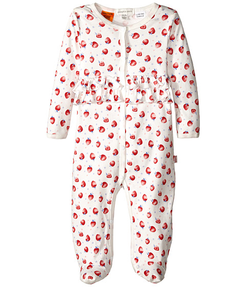 Pumpkin Patch Kids - Urban Folk Cotton All In One (Infant) (Vanilla) Girl's Jumpsuit & Rompers One Piece