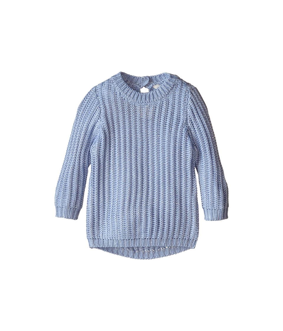 Pumpkin Patch Kids - Urban Folk Lurex Jumper (Infant/Toddler/Little Kids) (Dream Blue) Girl's Sweater