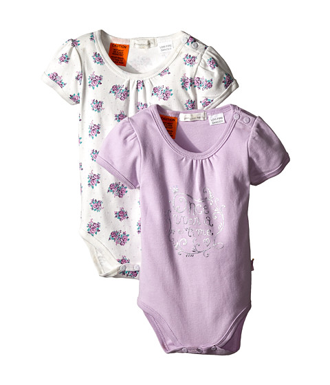 Pumpkin Patch Kids - Finding Anastasia 2pk Bodysuits (Infant) (Vanilla) Girl