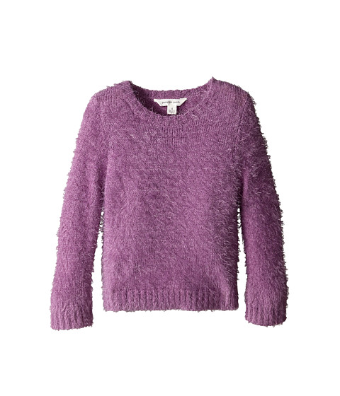 Pumpkin Patch Kids - Core Essentials Fluffy Jumper (Little Kids/Big Kids) (Lupin) Girl's Sweater
