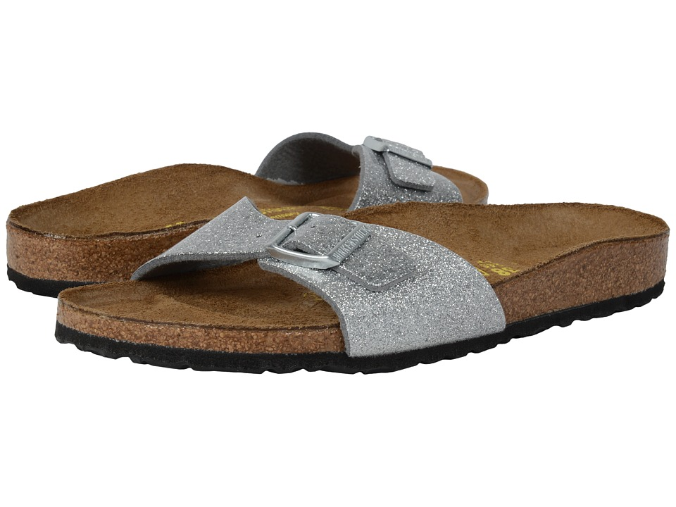 Birkenstock - Madrid (Magic Galaxy Silver Birko-Flor ) Women's Shoes