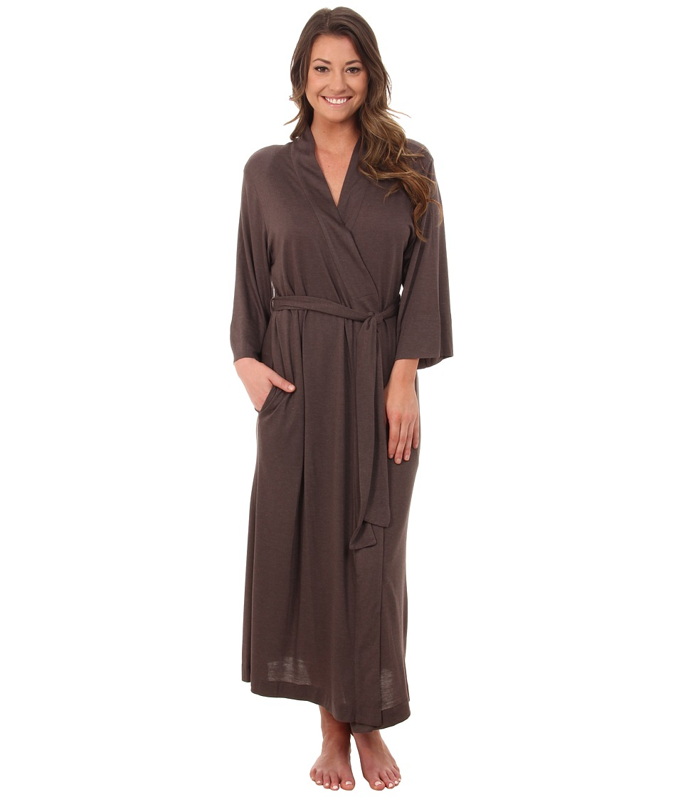Natori - Shangri-La Robe (Hot Espresso) Women's Robe