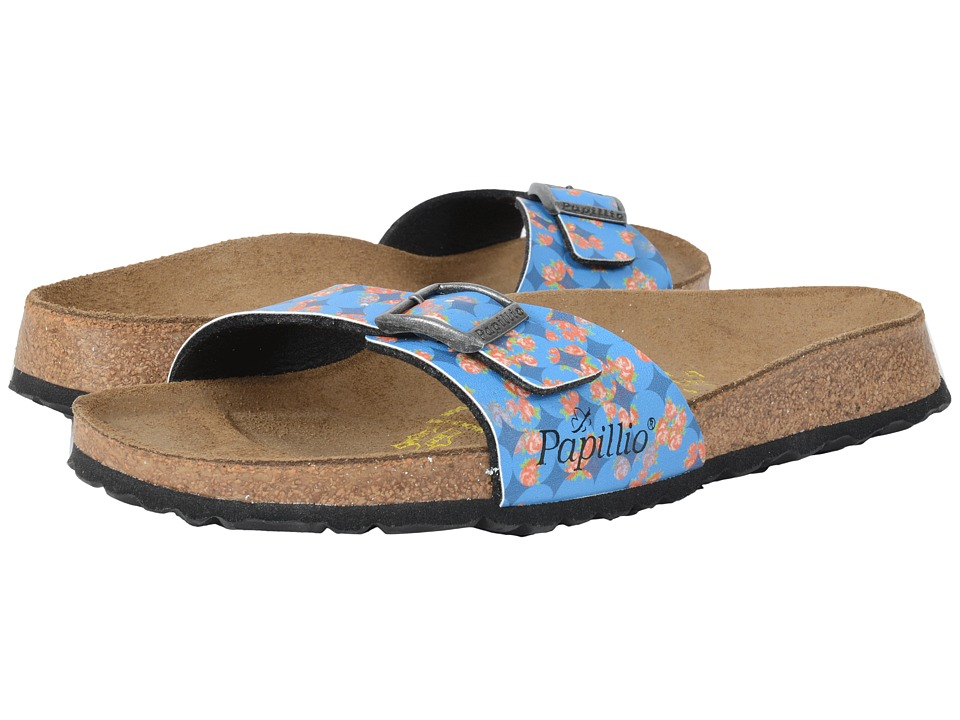 Birkenstock - Madrid (Floral Circles Blue Birko-Flor ) Women's Shoes