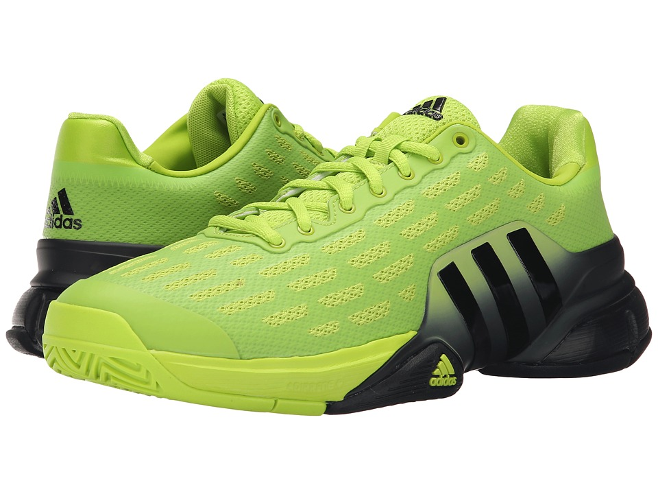 adidas - Barricade 2016 (Semi Solar Slime/Black) Men's Tennis Shoes
