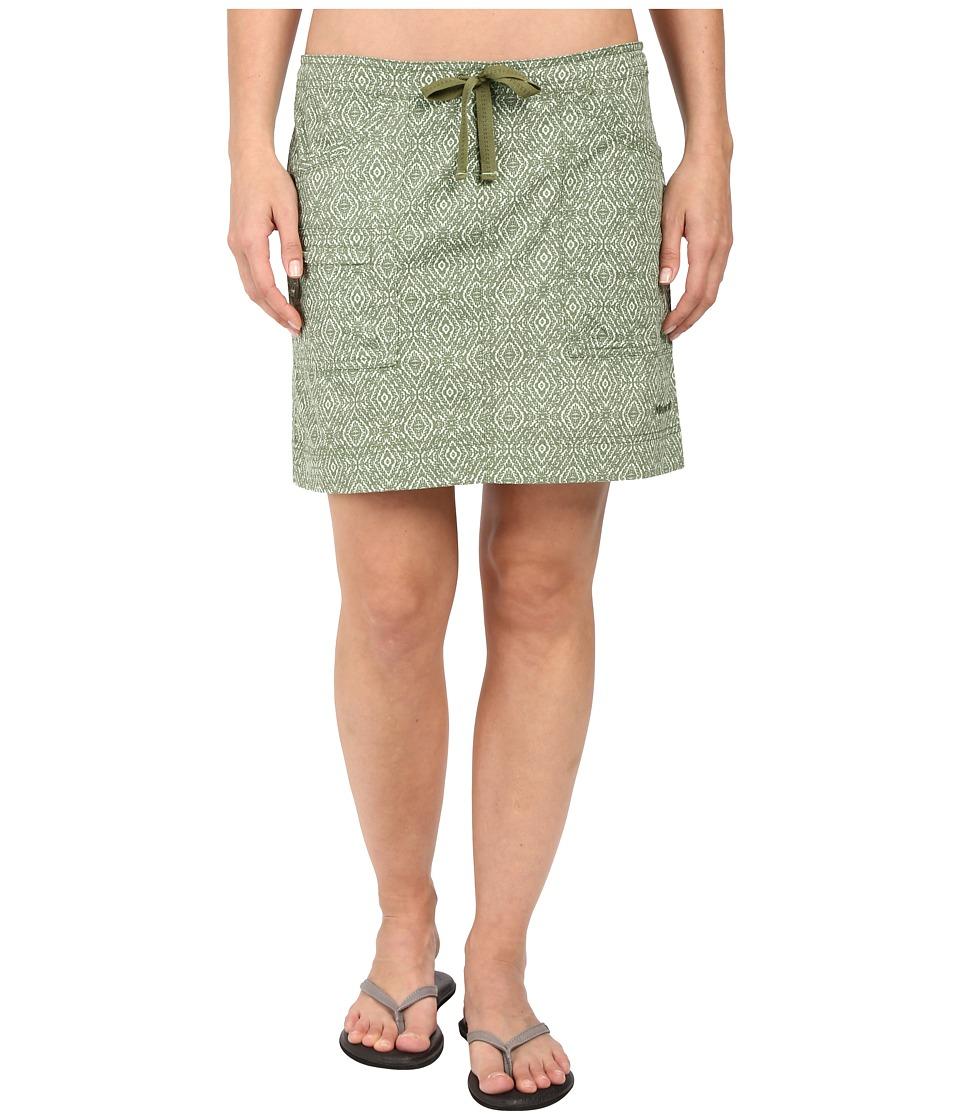 Marmot Ginny Skirt (Stone Green Ikat) Women