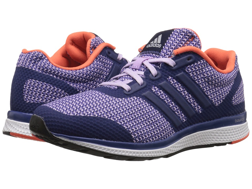 adidas Running - Mana Bounce W (Raw Purple/Purple Glow/Super Orange) Women's Running Shoes