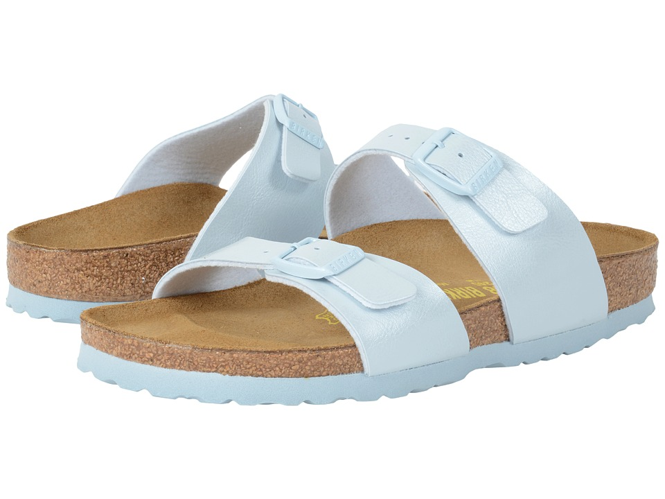 Birkenstock - Sydney (Baby Blue Birko-Flor ) Women's Shoes