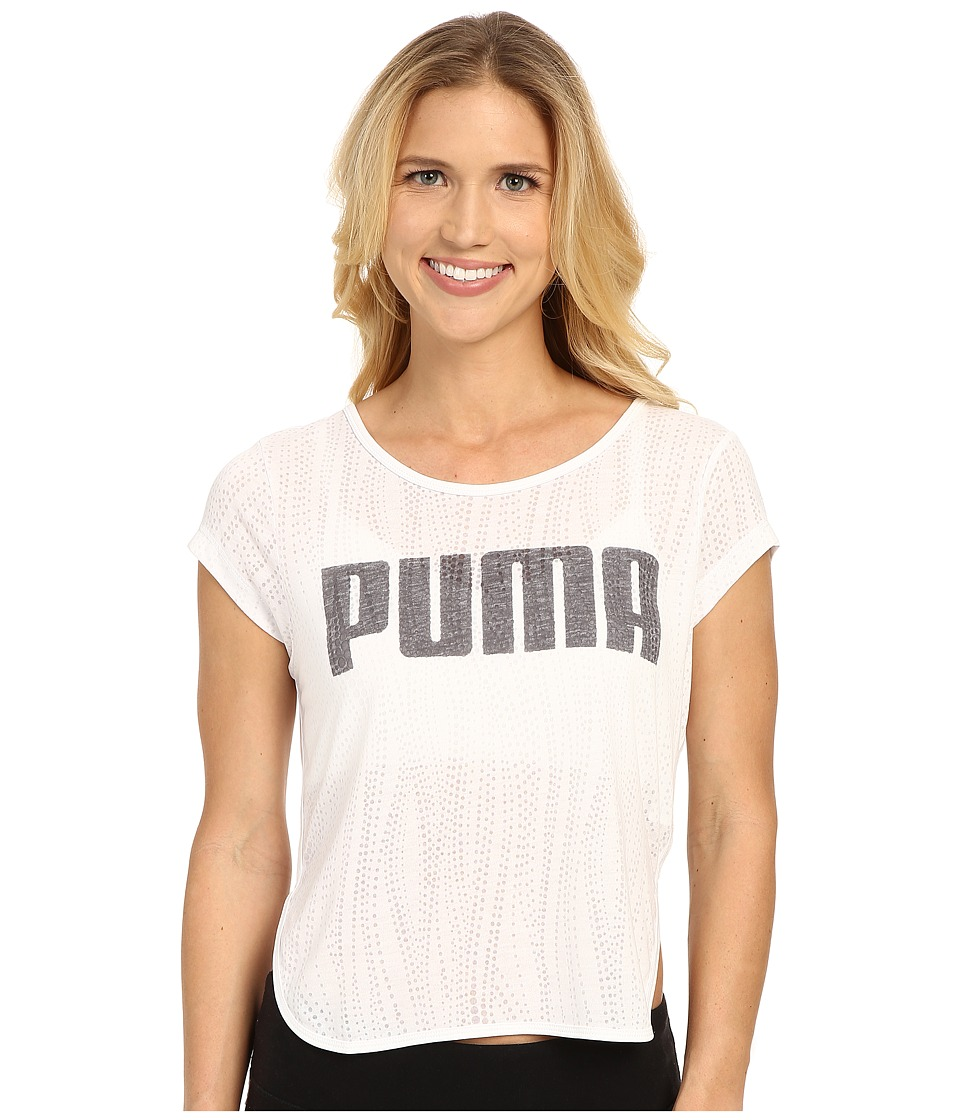 PUMA - Layer Tee (White) Women's T Shirt