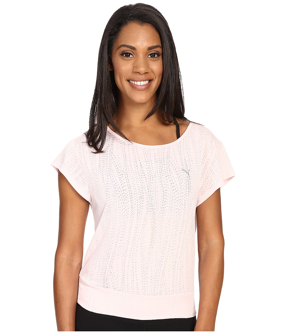 PUMA - Dancer Tee (Pink Dogwood) Women