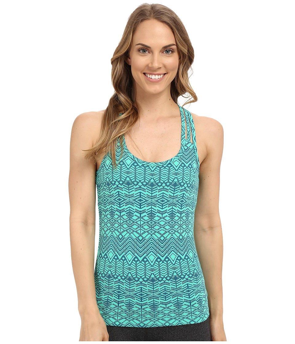 Marmot - Vogue Tank Top (Crystal Green Batik) Women's Sleeveless