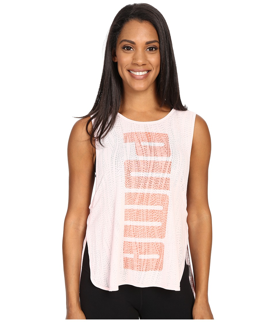 PUMA - Layer Tank Top (Pink Dogwood) Women's Sleeveless