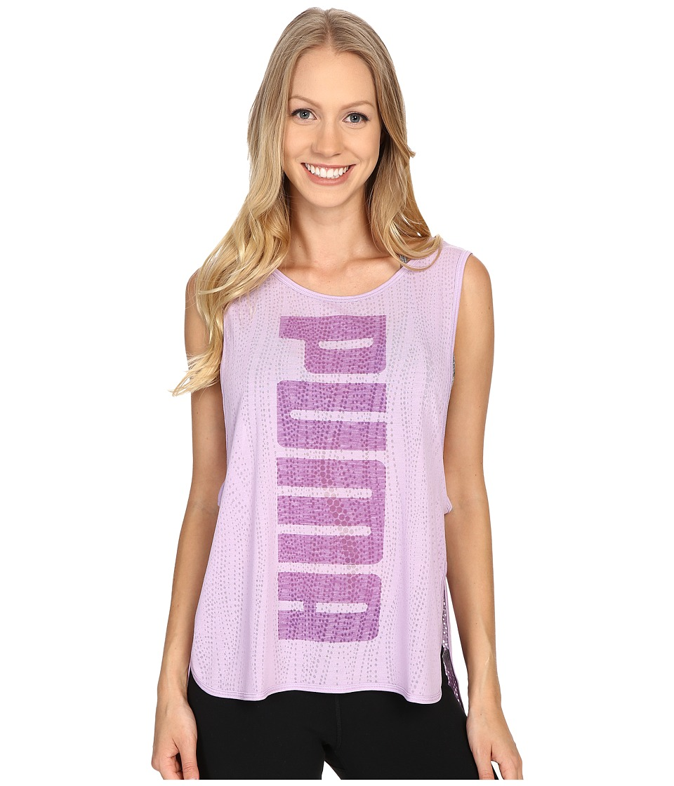PUMA - Layer Tank Top (Orchid Bloom) Women's Sleeveless