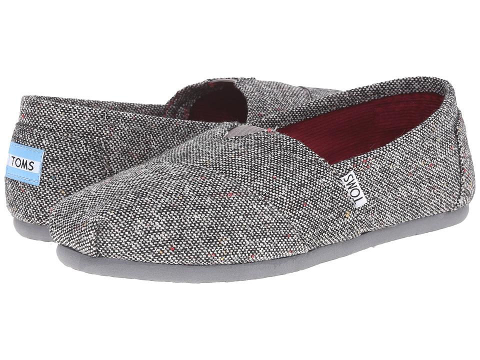 TOMS Silver Karsen Classics Silver Karsen Womens Slip on  Shoes