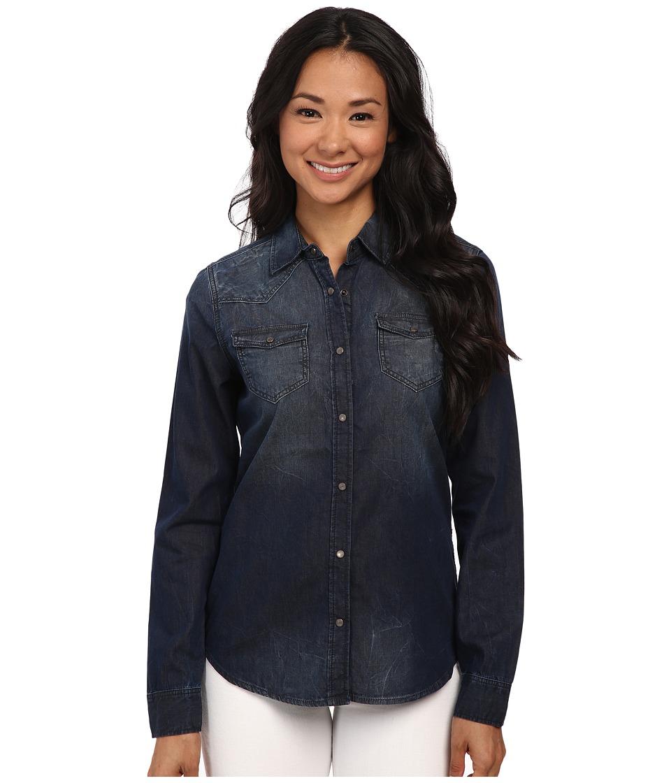 Mavi Jeans - Isabella Deep Dyed Jacket in Blue (Blue) Women