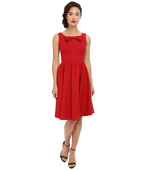Stop Staring! - Noeley Swing Dress (Red) Women's Dress