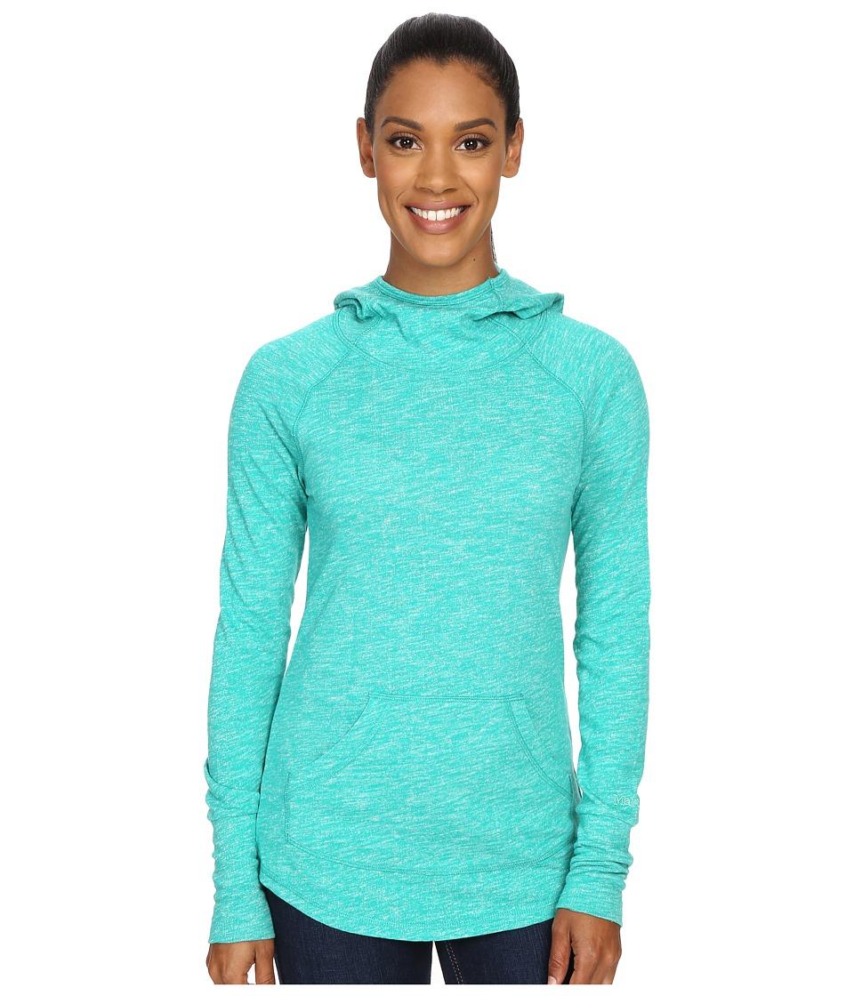 Marmot - Tess Hoodie (Gem Green) Women's Sweatshirt